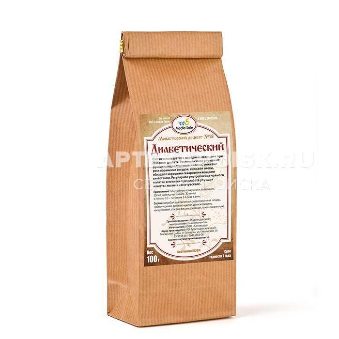 Монастырский чай отца Георгия купить в аптеке в Муроме